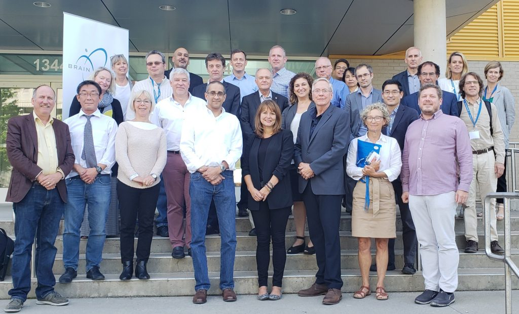 Meeting of leading Canadian Neuroscientists